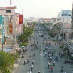 Đường Huỳnh Tấn Phát liền kề dự án căn hộ Luxgarden của Đất Xanh