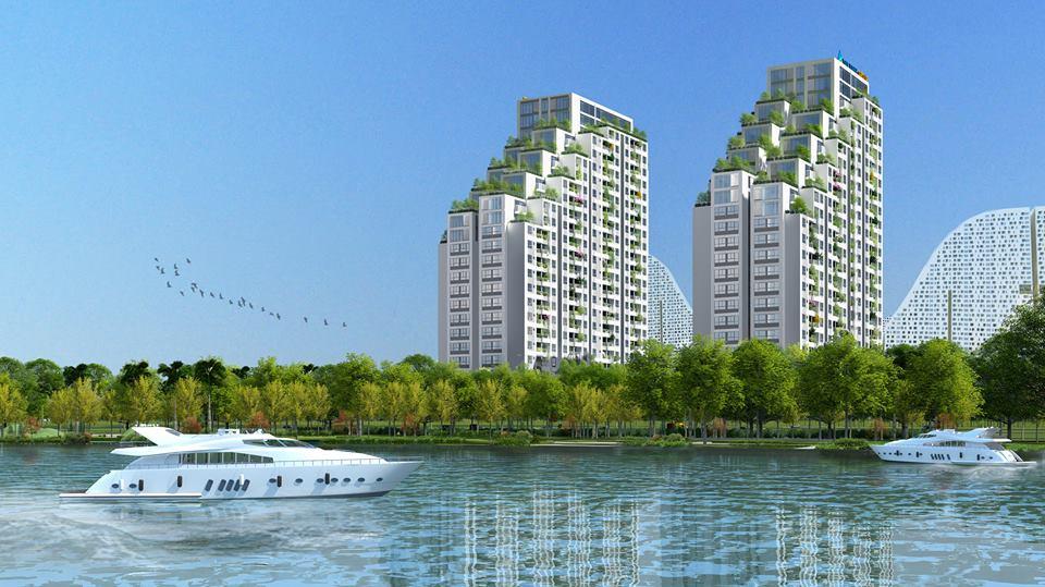 Dự án căn hộ Luxgarden q7 quận 7 Đất Xanh