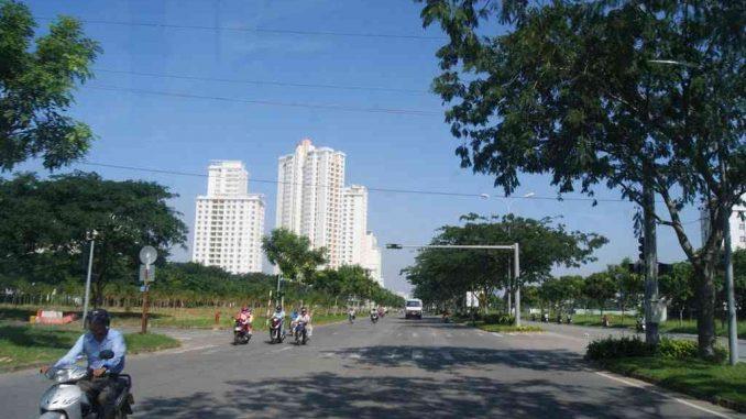 Đường Nguyễn Lương Bằng - Sài Gòn South Plaza Quận 7