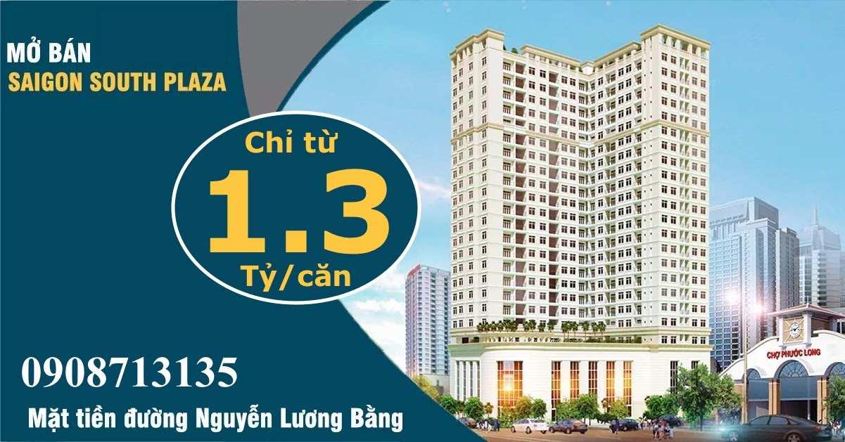Banner dự án căn hộ Sài Gòn South Plaza Quận 7-compressed (1)