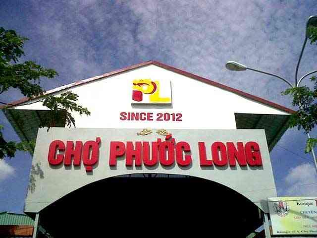 Chợ Phước Long - Sài Gòn South Plaza