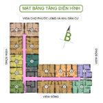 mặt bằng tầng Căn hộ số 8-13-14-15 dự án SaiGon South Plaza (4)