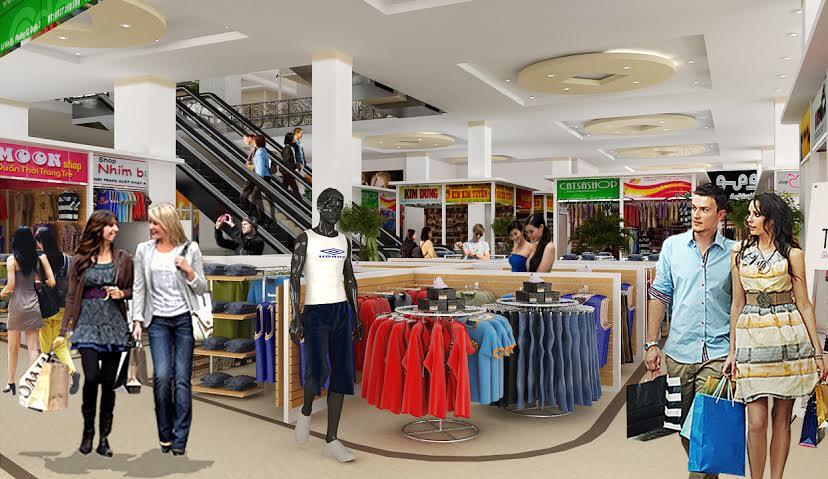 Tầng 1 siêu thị SaiGon South Plaza