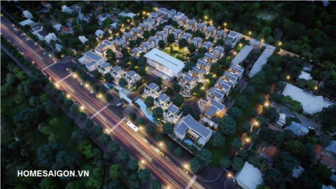 Tổng thể dự án đất nền Citadel Risidence Nguyễn Lương Bằng Quận 7