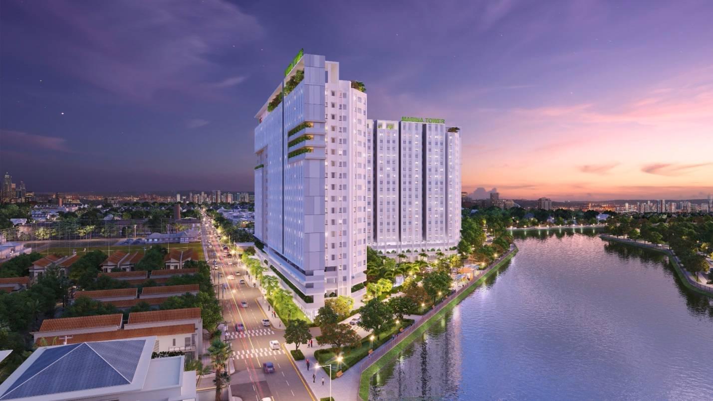 Trang chủ tổng thể dự án căn hộ Marina Tower
