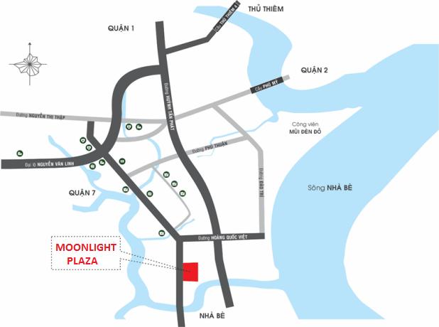 Vị-Trí-Dự-Án-Căn-Hộ-Q7 Boulevard MoonLight-Plaza-Quận 7