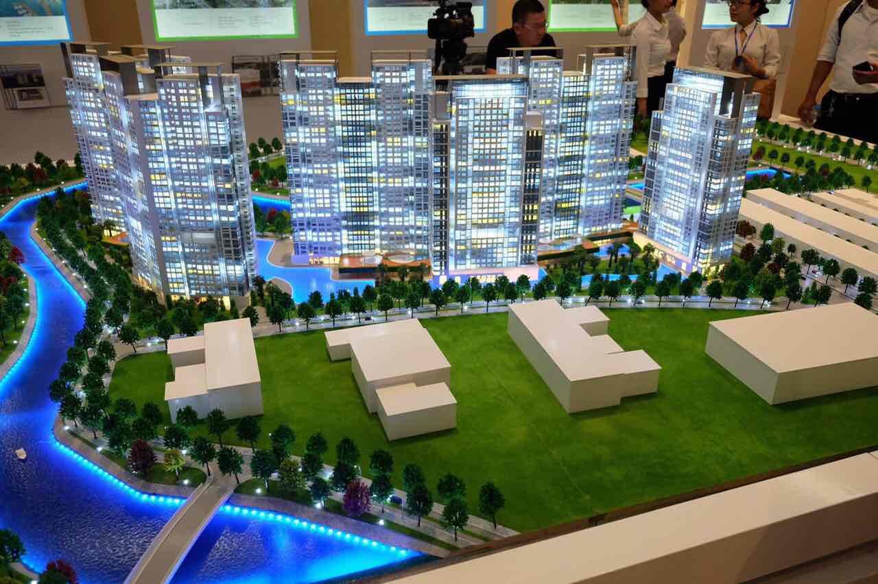 dự án căn hộ cao cấp Gem Riverside quận 2 đất xanh group