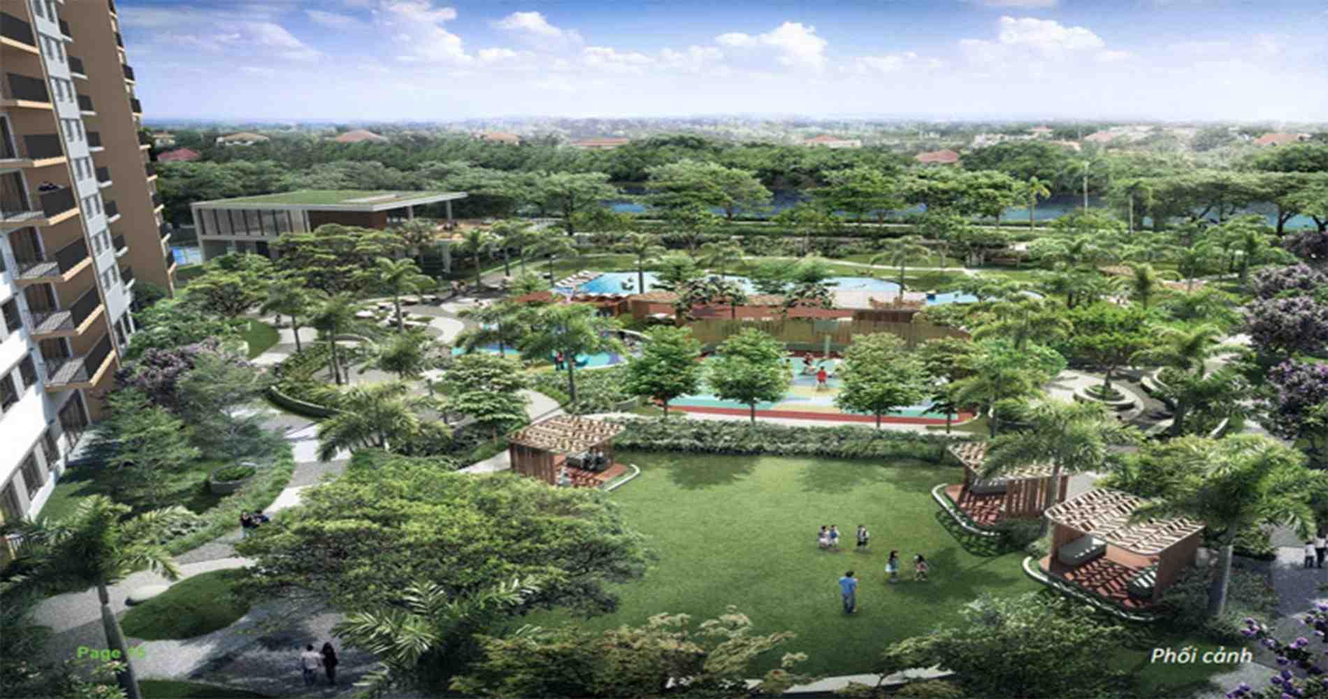 tổng thể dự án căn hộ opalcity đất xanh-quận 9