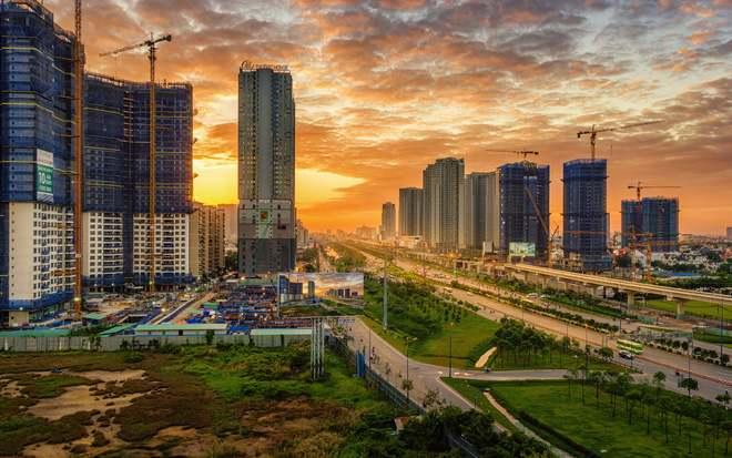 Khu đô thị mới TPHCM năm 2021