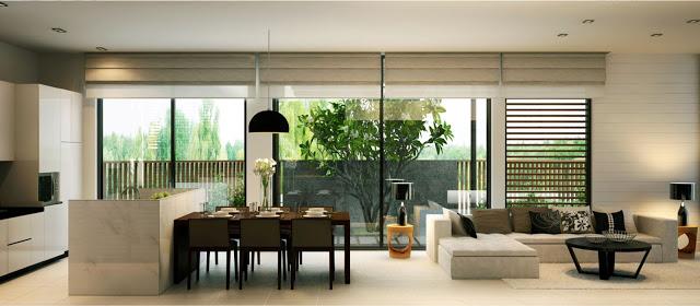 Thiết Kế Green Home Quy Nhơn-Không Gian Phòng Khách Nhà Phố