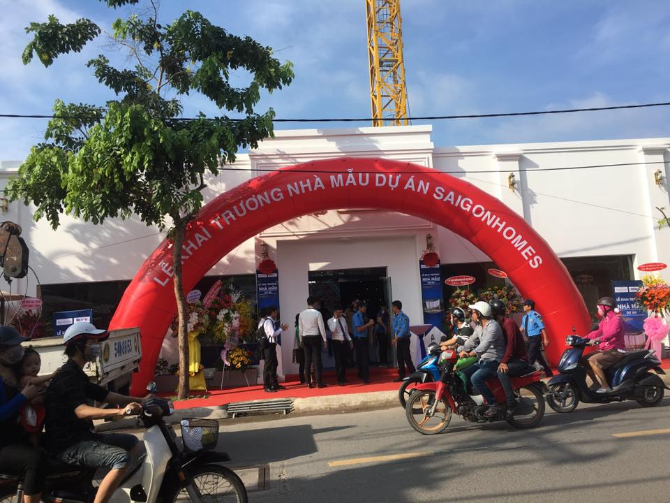Lễ khai trương căn hộ mẫu Saigon Homes Bình Tân