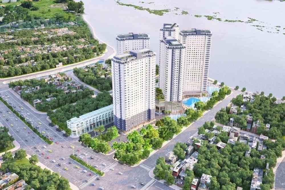 Phối cảnh dự án căn hộ chung cư Saigon Riverside City Quốc Lộ 13 Quận Thủ Đức