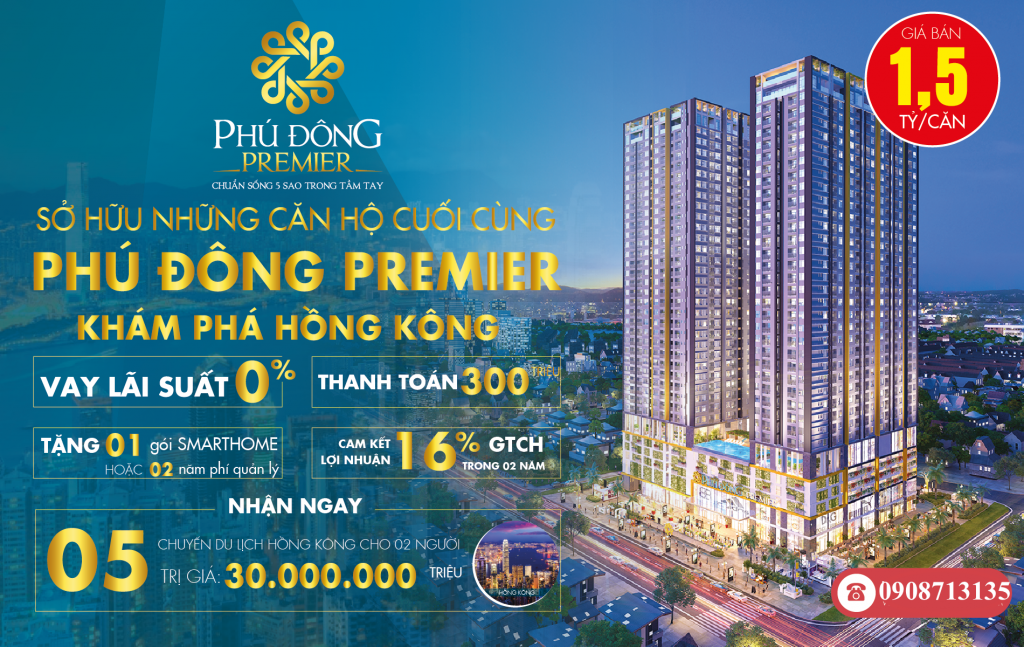 Dự án căn hộ Phú Đông Premier Bình Dương