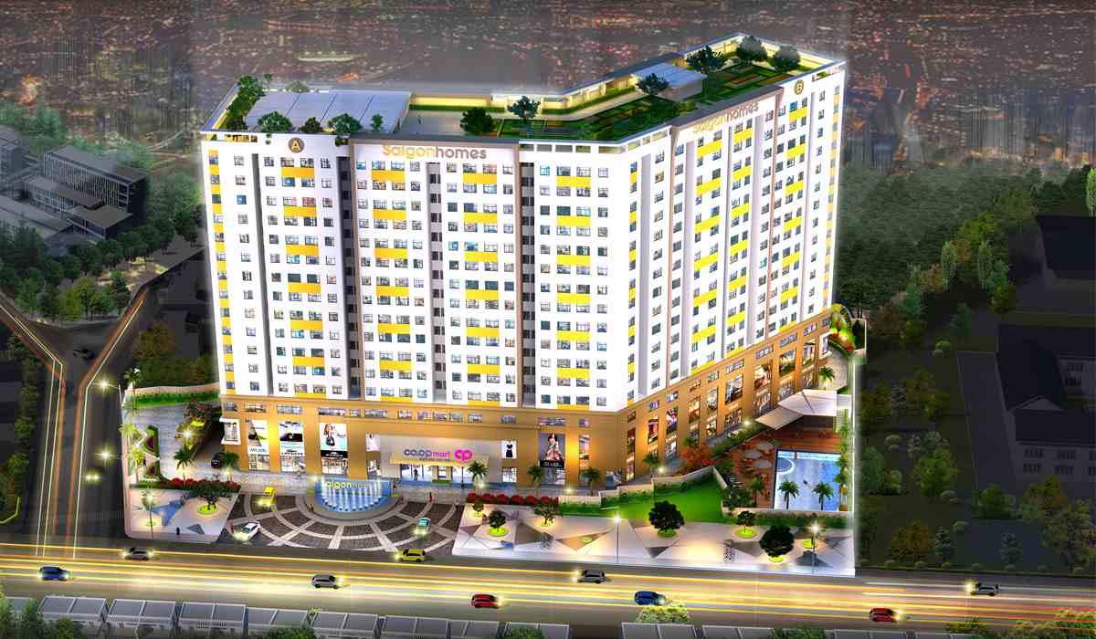Nhận ký gửi mua bán lại dự án căn hộ chung cư Saigon Homes Hương Lộ 2 Bình Tân