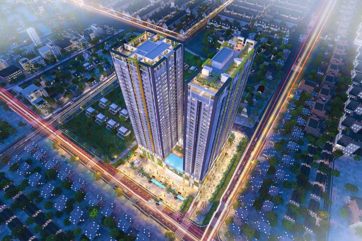 Quy mô tổng thể dự án căn hộ Phú Đông Premier Bình Dương