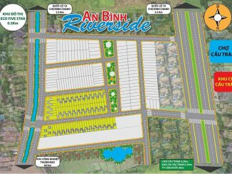Tổng thể sơ đồ phân lô dự án đất nền An Bình Riverside Long An-Bình Chánh