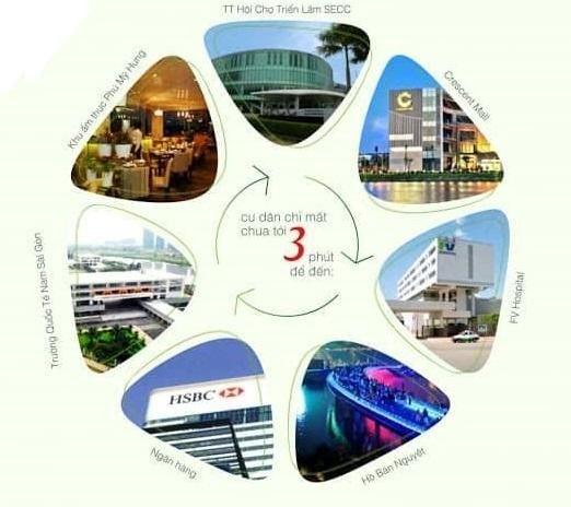 Ngoại khu dự án Officetel Four Square Quận 4