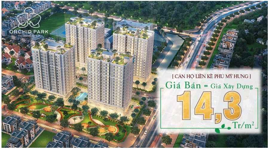 Tổng quan khu dân cư dự án căn hộ Orchid Park Phú Xuân Nhà Bè