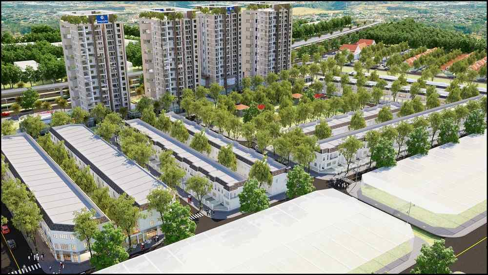 Dự án đất nền Thăng Long Home Hiệp Phước Nhơn Trạch Đồng Nai