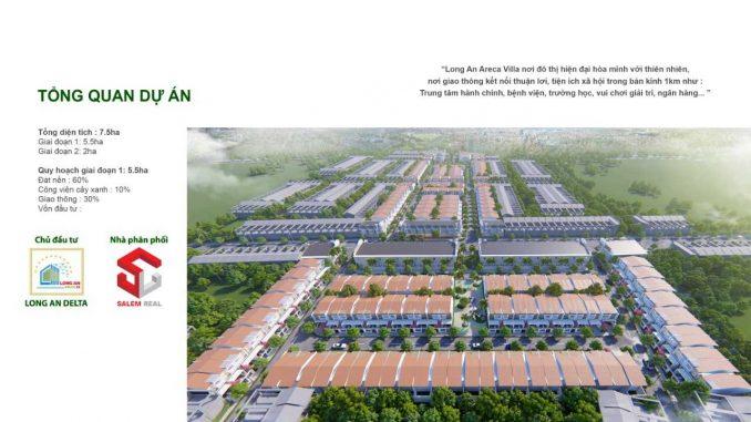 Mở bán giai đoạn đầu tiên 1 dự án đất nền khu dân cư thương mại Areca Villa Long An Đức Hoà