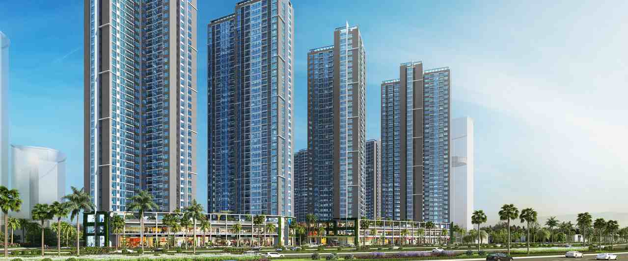 Phối cảnh dự án căn hộ Eco Green Saigon Quận 7
