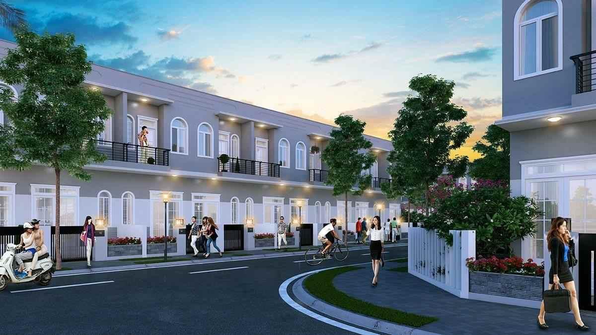 Dự án đất nền khu đô thị cao cấp Saigon Villa huyện Bình Chánh