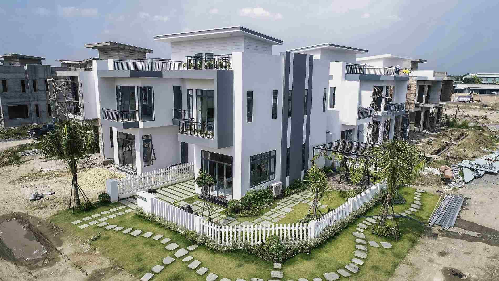 Dự án Villa House Center Park - Bình Chánh