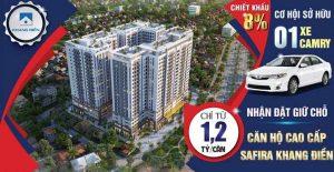 Dự án căn hộ chung cư Safira Khang Điền Quận 9