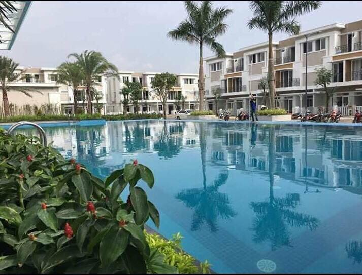 Dự án nhà phố khu đô thị Happy Villa Bình Chánh