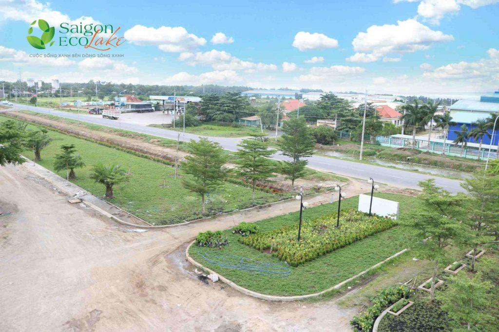Hình ảnh thực tế Saigon Eco Lake