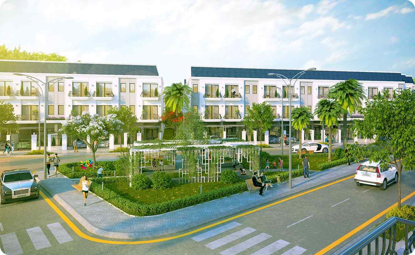 Nhà phố Dự án đất nền nhà phố Shop House Symbio Garden quận 9