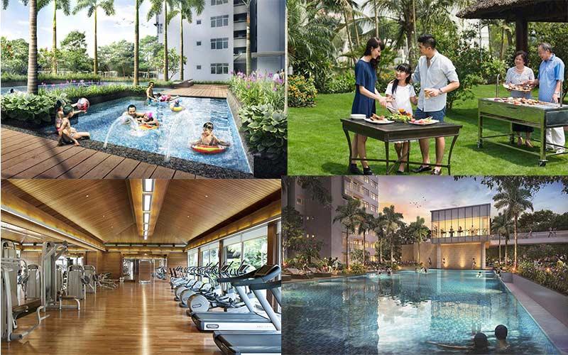 Tiện ích Eco Green Saigon Quận 7 - Nội Khu Sang Trọng