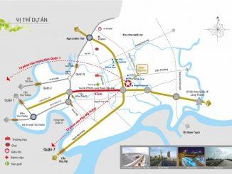 Vị trí Dự án căn hộ chung cư Safira Khang Điền Quận 9
