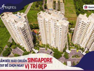 Căn hộ chung cư The Canary Heights Thuận An Bình Dương
