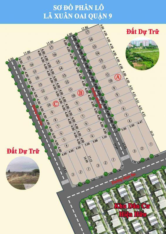 Dự án đất nền khu dân cư Lã Xuân Oai Quận 9