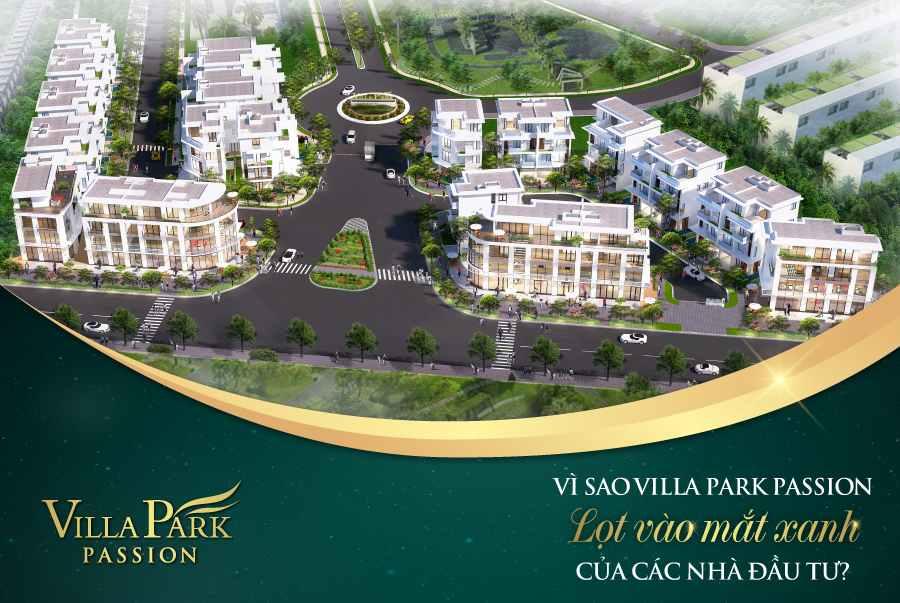 Dự án biệt thự shop house Villa Park Passion Quận 9