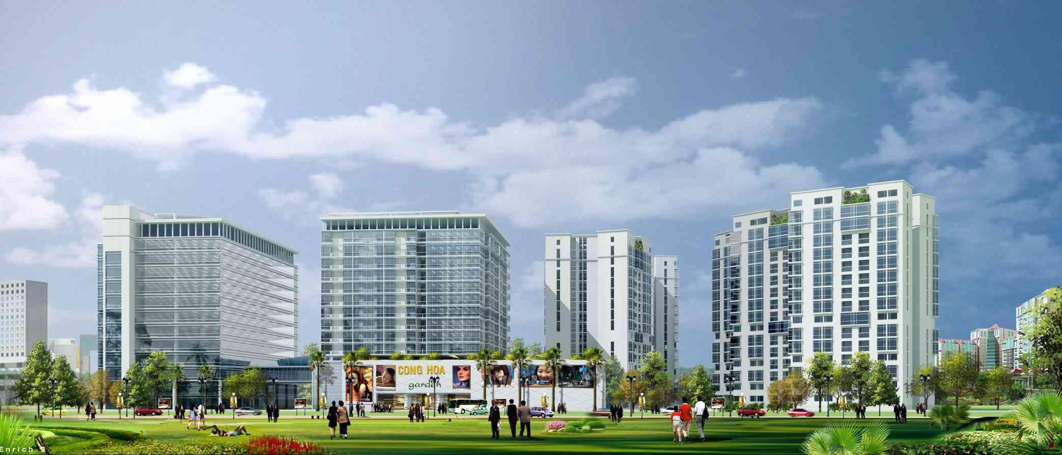Dự án căn hộ chung cư Cộng Hoà Garden Quận Tân Bình