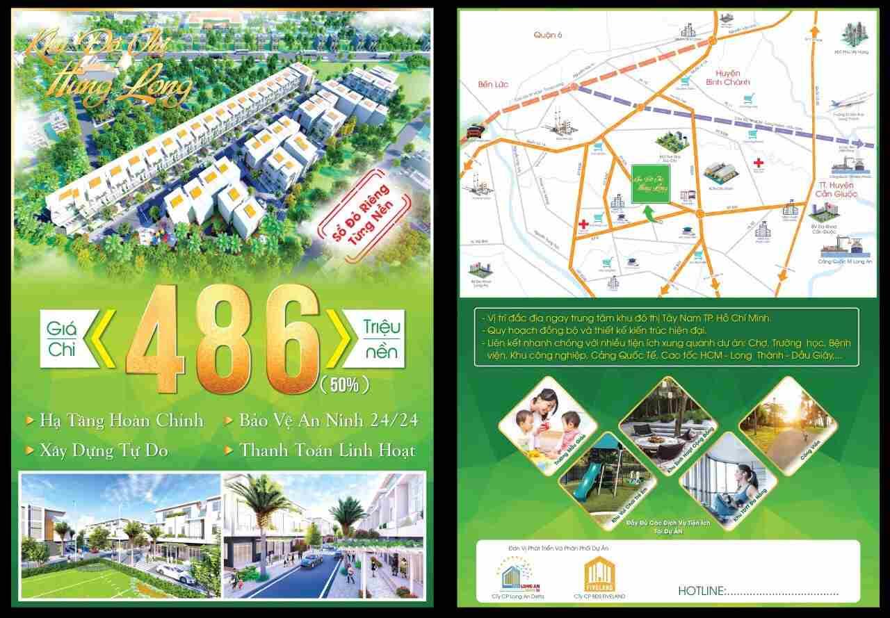 Dự án khu đô thị Hưng Long Garden Long An