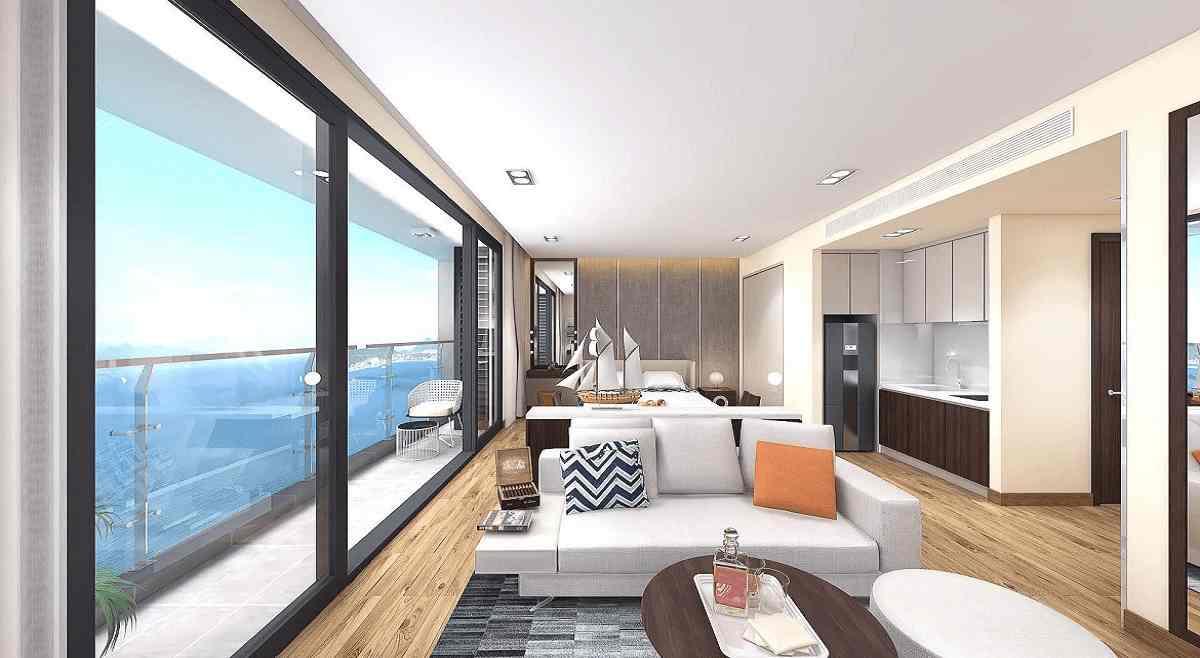 Thiết kế dự án căn hộ khách sạn nghỉ dưỡng Dragon Fairy Trần Phú Nha Trang