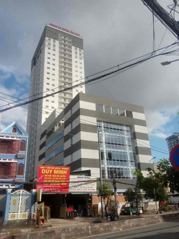 Toàn nhà Hình ảnh thực tế căn hộ chung cư Huỳnh Tấn Phát