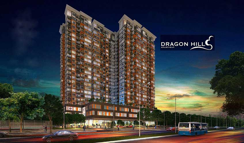 Chung cư căn hộ đường Nguyễn Hữu Thọ Quận 7 Dragon Hill Residence and Suites 2