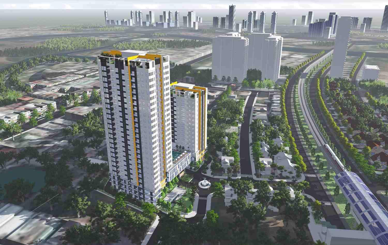 Chung cư căn hộ đường Nguyễn Hữu Thọ Quận 7 - Hưng Phát Silver Star