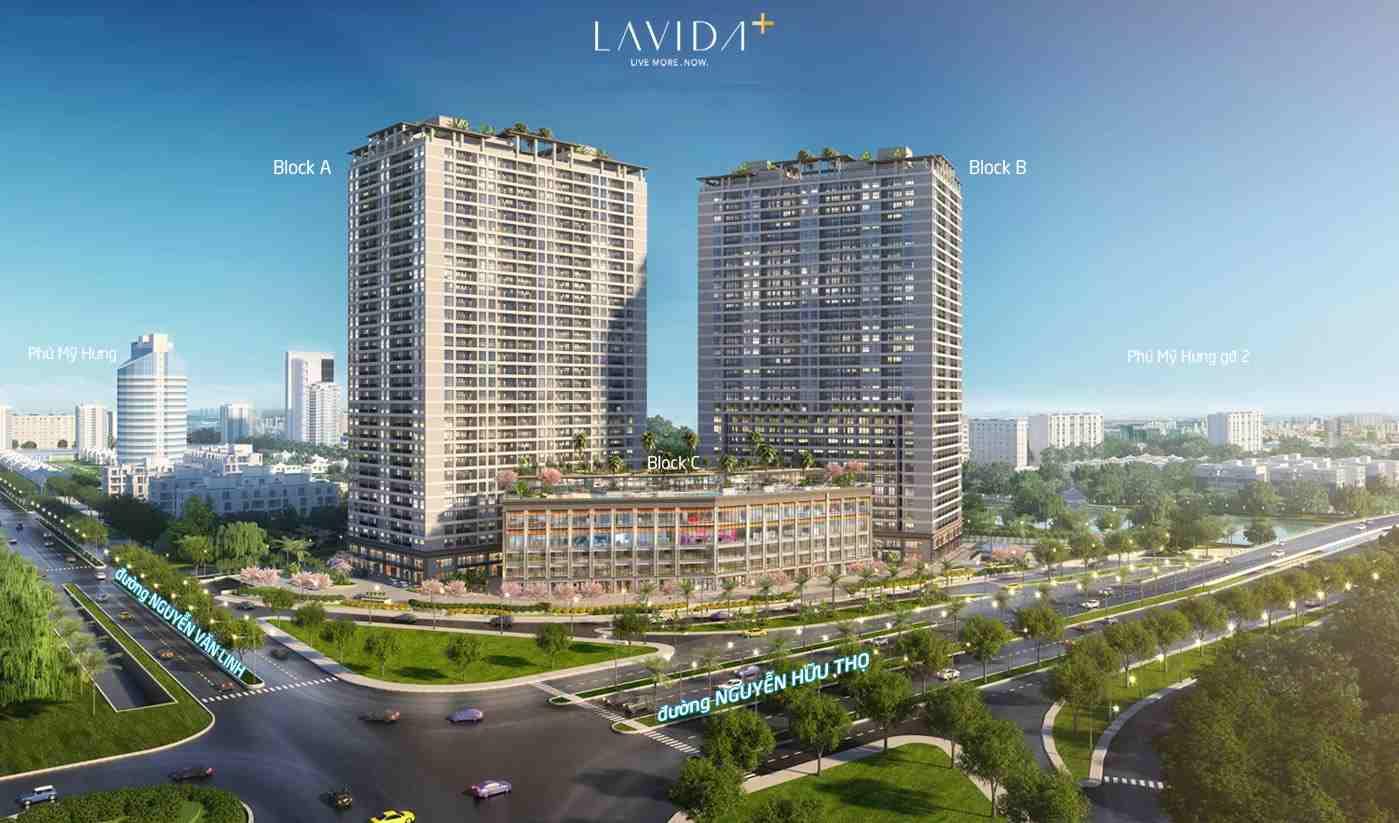 Chung cư căn hộ đường Nguyễn Hữu Thọ Quận 7 - Lavida Plus