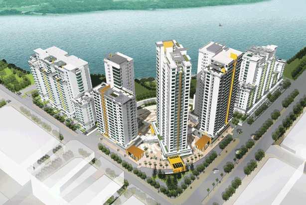 Chung cư căn hộ đường Nguyễn Lương Bằng - Riverside Residence