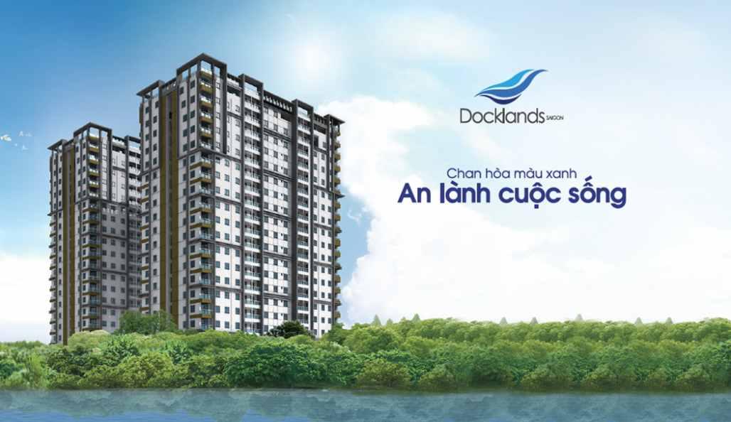 Chung cư căn hộ đường Nguyễn Thị Thập Quận 7 - Docklands Saigon