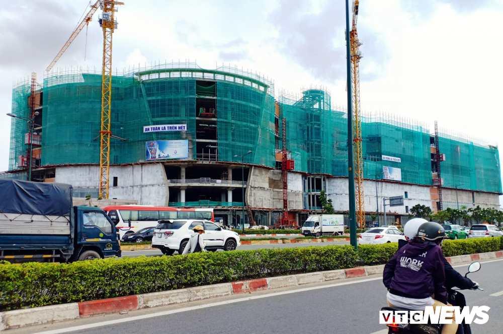Công trình Giga mall đang thi công -compressed