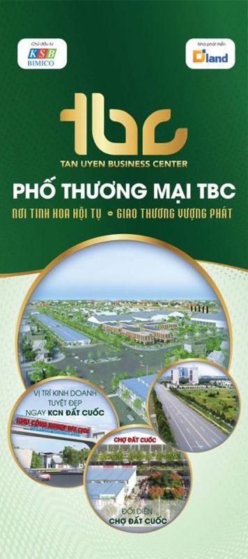 Dự án nhà phố thương mại TBC Tân Uyên Bình Dương