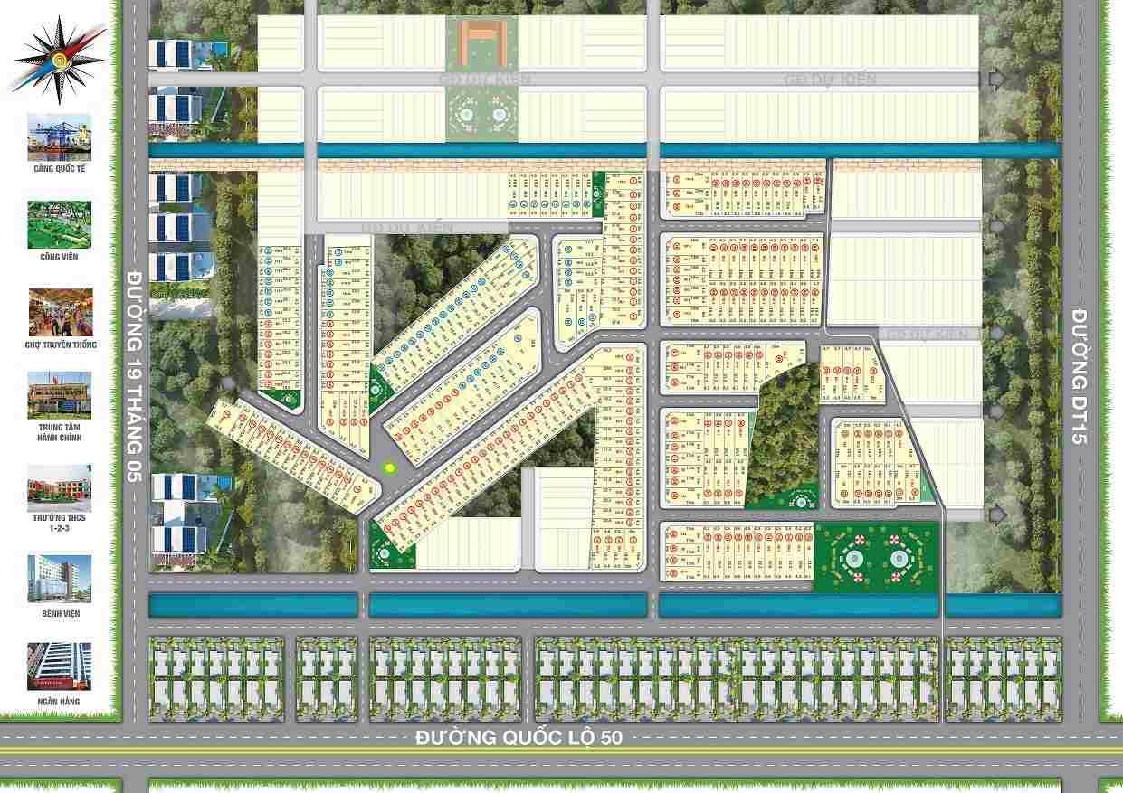 Dự án đất nền khu đô thị Ehome Riverside Quốc Lộ 50 - Bình Chánh