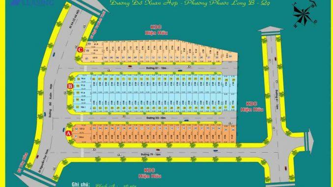 Dự án đất nền khu dân cư Hoa Ngọc Lan Quận 9