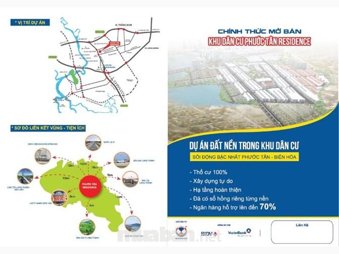 Dự án đất nền khu dân cư Phước Tân Residence Long Thành Đồng Nai